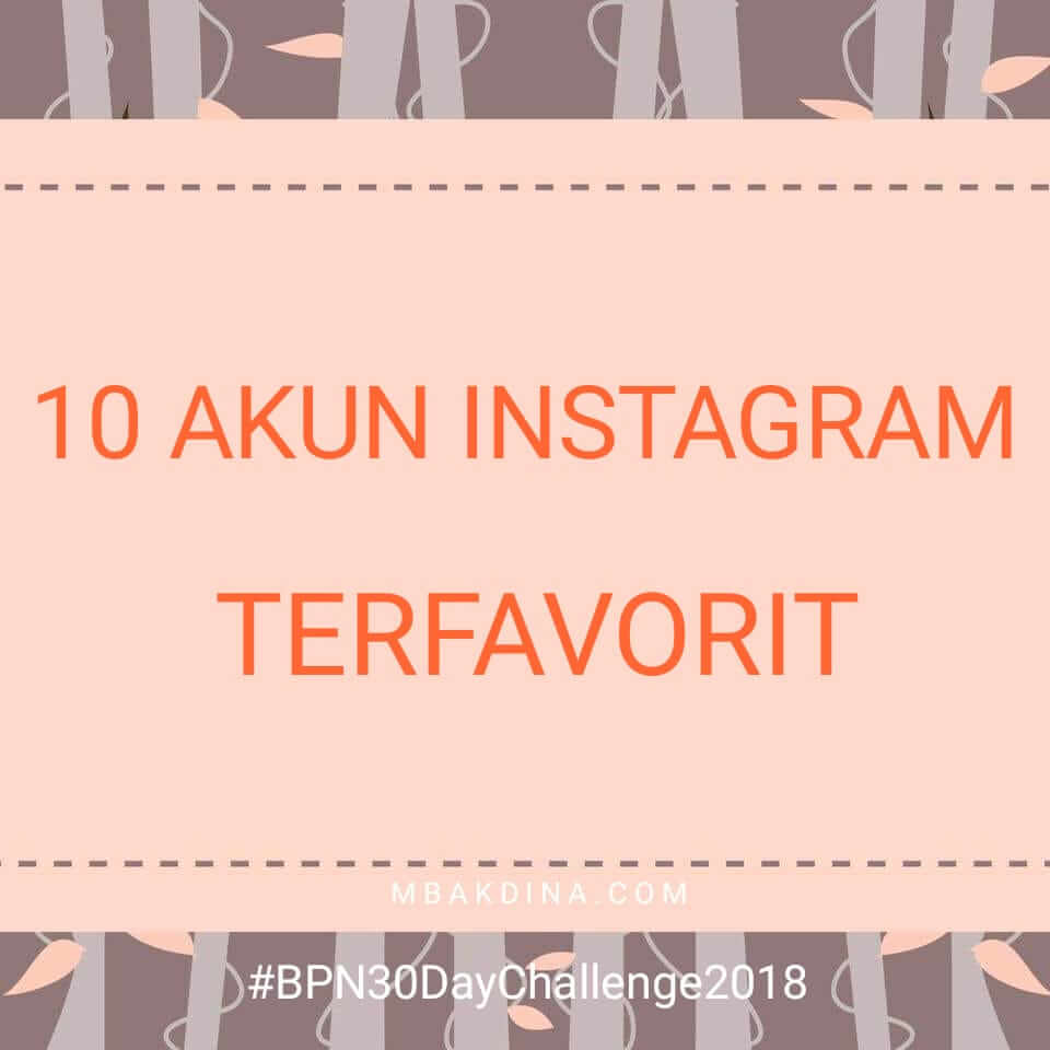 10 Akun Instagram Recommended