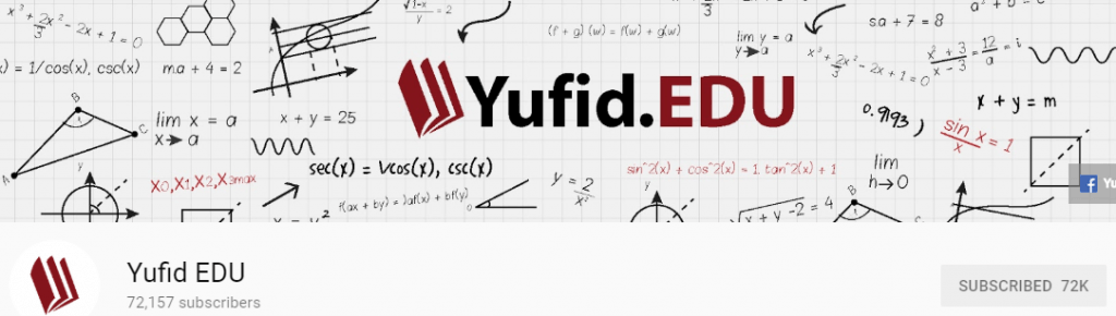 Channel youtube favorit yufid edu