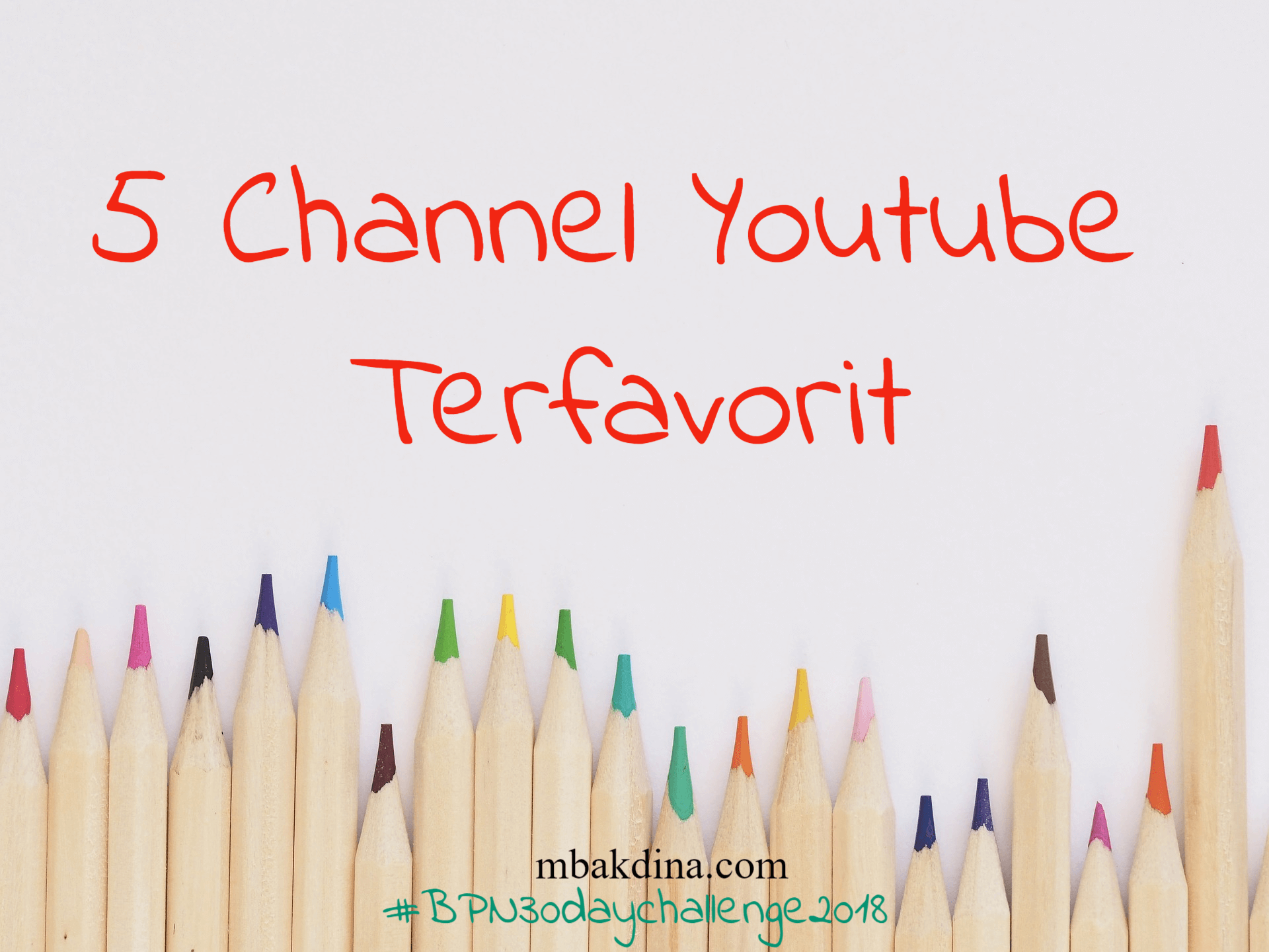 channel youtube favorit
