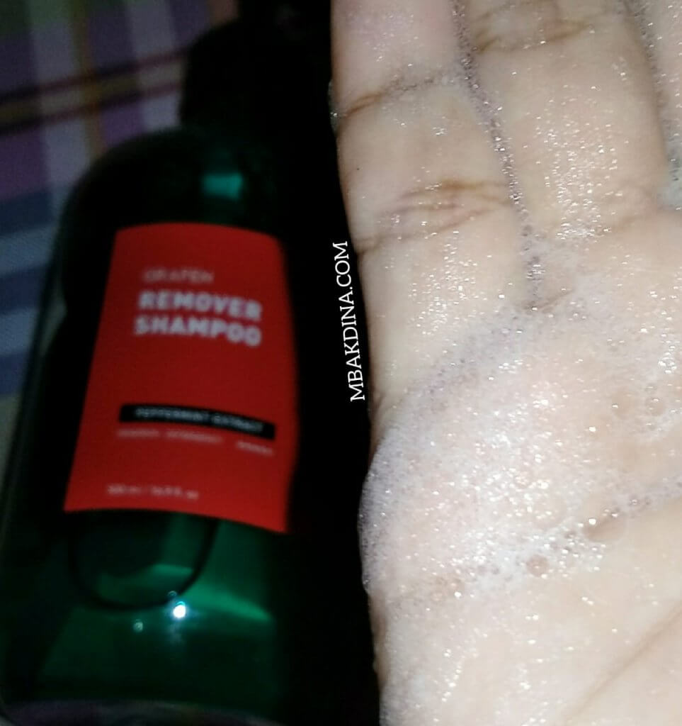 Review Shampoo Grafen Remover Indonesia