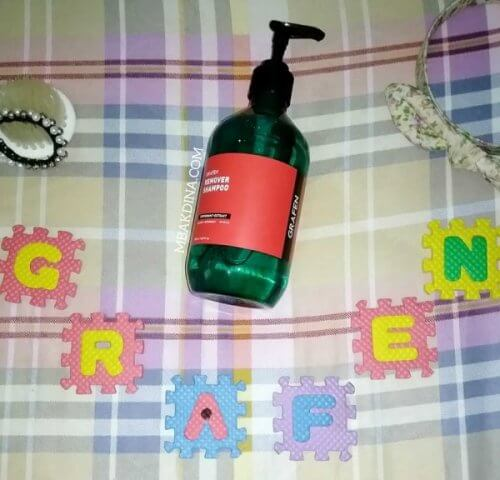 Review Shampoo Anti Ketombe: Grafen Remover Shampoo
