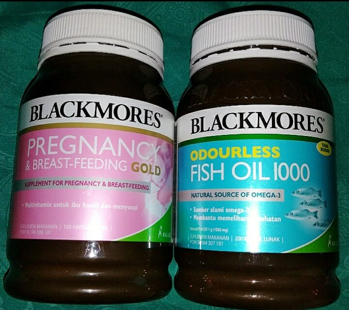 Review blackmores pregnancy and breastfeeding gold dan Blackmores fish oil